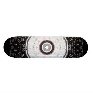 Planche à roulettes à télécommande de kaléidoscope skateboard 19,7 cm