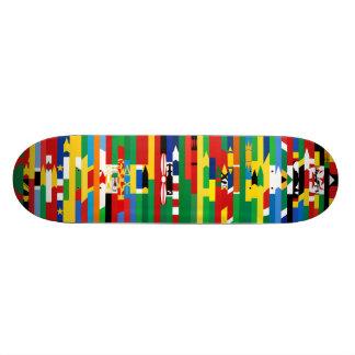 Planche à roulettes africaine de drapeaux skateboards personnalisés
