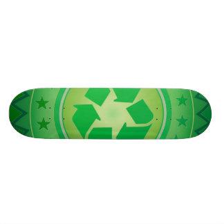 Planche à roulettes amicale d'autocollant de produ skateboard 19,7 cm
