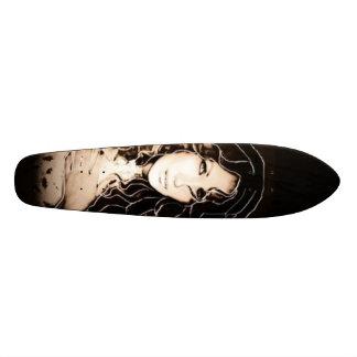 Planche à roulettes Ange-Peinte-Custim Skateboard Old School 21,6 Cm