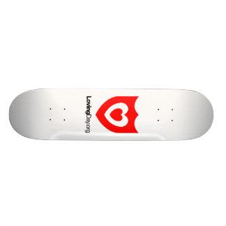 Planche à roulettes blanche skateboards personnalisables