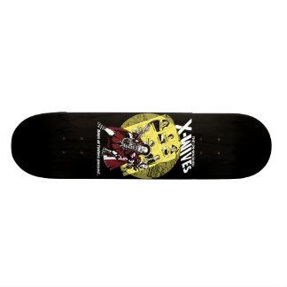 Planche à roulettes célibataire de X-Épouses Skateboards
