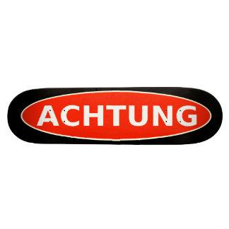 Planche à roulettes d'ACHTUNG Skateboard 20 Cm