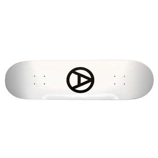 Planche à roulettes d'anarchie plateaux de skateboards