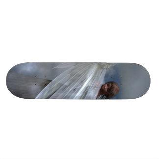 Planche à roulettes d'ange gardien plateau de skate