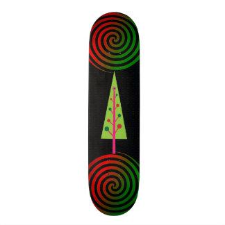 Planche à roulettes d'arbre de Chistmas Skateboard 20 Cm