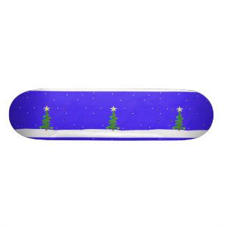 Planche à roulettes d'arbre de Noël Planches À Roulettes Customisées