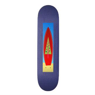 Planche à roulettes d'arbre de Noël Skateboards Personnalisables