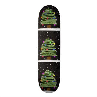 Planche à roulettes d'arbre de Noël Skateboards Personnalisés