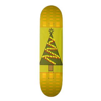 Planche à roulettes d'arbre de Noël Planche À Roulette