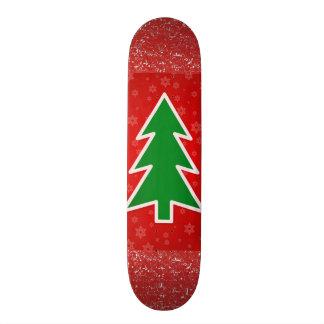 Planche à roulettes d'arbre de Noël Skateboards Cutomisables