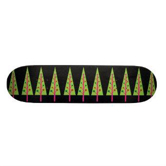 Planche à roulettes d'arbres de Noël Skateoard Personnalisé