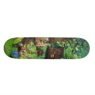 Planche à roulettes d'art de rue de FlyBoy Plateau De Planche À Roulettes