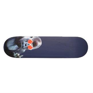 Planche à roulettes d'art de rue de middlefinger d plateaux de skate