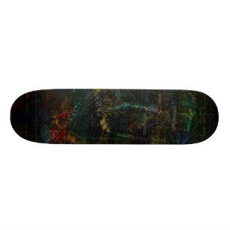Planche à roulettes d'aventurier skateboards cutomisables