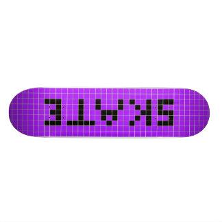Planche à roulettes de 8 bits plateau de skate