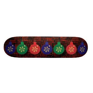Planche à roulettes de babioles de Noël Skateboards Personnalisables