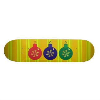 Planche à roulettes de babioles de Noël Skateboard 20,6 Cm