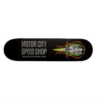 Planche à roulettes de bougie de magasin de vitess planches à roulettes customisées