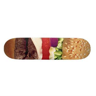 Planche à roulettes de cheeseburger pro skateboard