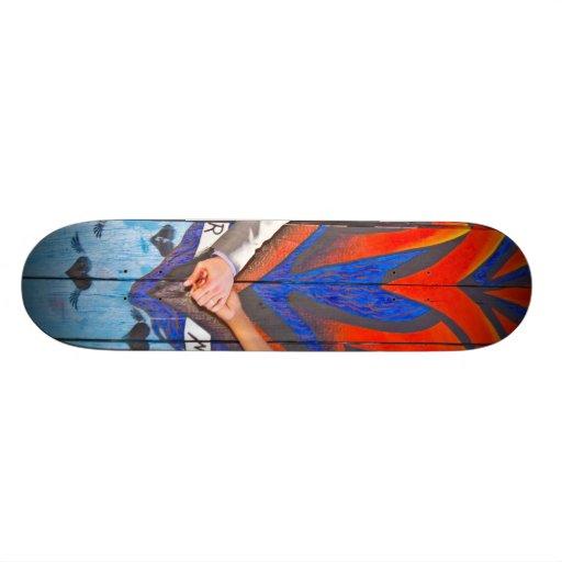 Planche à roulettes de Claudia et de mariage de Sc Skateboards