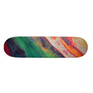 Planche à roulettes de coutume d'éclaboussure plateaux de skateboards
