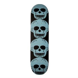 Planche à roulettes de crâne skateboards personnalisés