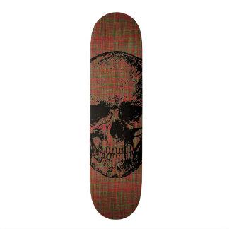 Planche à roulettes de crâne skateboard old school  21,6 cm