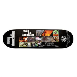 Planche à roulettes de Darkside de La de vivats de Plateau De Skateboard