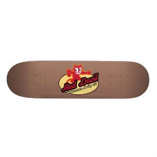 Planche à roulettes de diable rouge planche à roulette