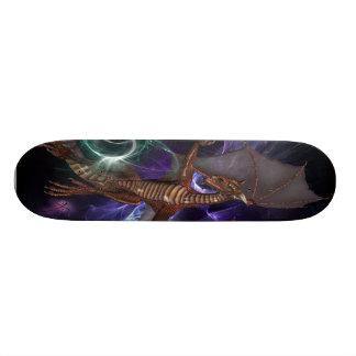Planche à roulettes de dragons plateaux de planche à roulettes