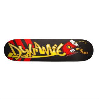 Planche à roulettes de dynamite plateaux de skate
