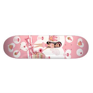 Planche à roulettes de fée de magasin de bonbons skateboards customisés