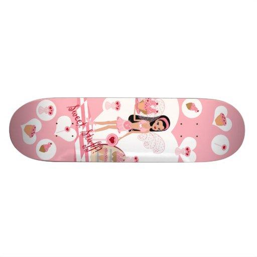 Planche à roulettes de fée de magasin de bonbons skateboards personnalisables
