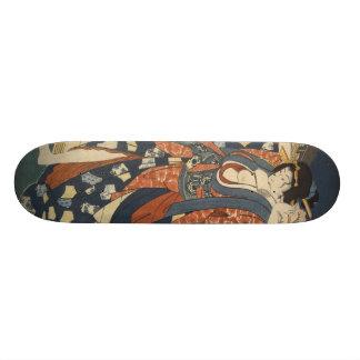 Planche à roulettes de fille de geisha skateboard old school 18,1 cm