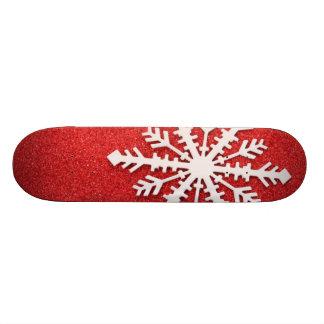 Planche à roulettes de flocon de neige plateau de skate