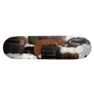 Planche à roulettes de Fox Cimitiere Skateboard 20,6 Cm