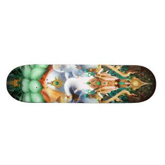 Planche à roulettes de Galactik Ganesh Plateaux De Skateboards Customisés
