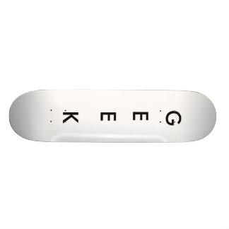 Planche à roulettes de geek mini skateboard 18,4 cm