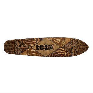 Planche à roulettes de Hawaïen de Tiki de Tapa Skateboards Personnalisés