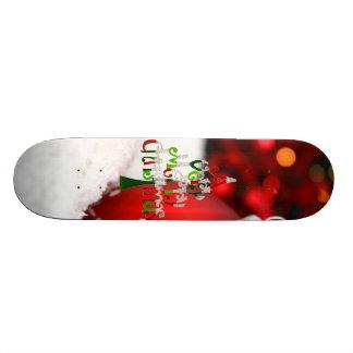 Planche à roulettes de Joyeux Noël Plateaux De Skateboards