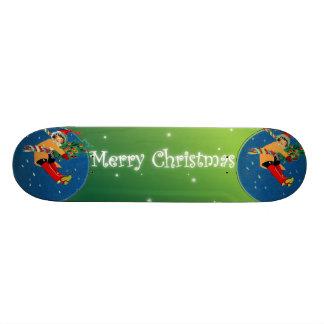 Planche à roulettes de Joyeux Noël Planches À Roulettes Customisées