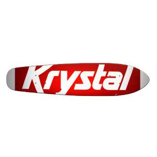 Planche à roulettes de Krystal Mini Skateboard 18,4 Cm