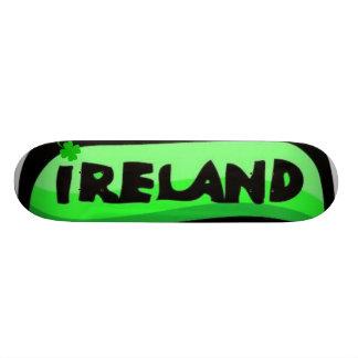 Planche à roulettes de l Irlande
