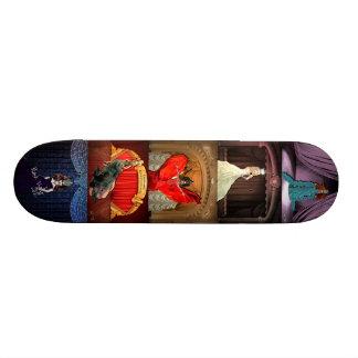 Planche à roulettes de la Reine d'entrave Plateau De Skateboard