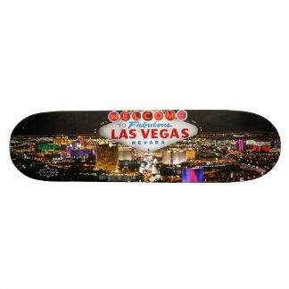 Planche à roulettes de Las Vegas