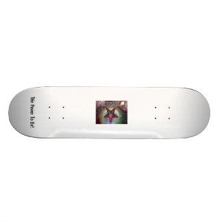 Planche à roulettes de logo de WCSL Baphomet ! Skateboard Old School 18,1 Cm