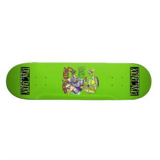 Planche à roulettes de magasin de vitesse de skateboard customisable