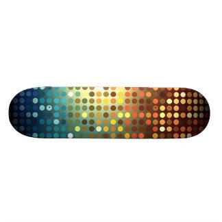 Planche à roulettes de paillettes pro plateaux de skate