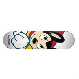 Planche à roulettes de poinçon de Mighty Mouse Skateboard 20 Cm